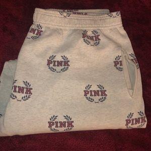 VS Pink Sweatpants SZ M